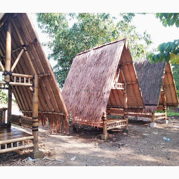 gazebo bambu petung 1.5x2