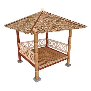 jual gazebo bambu