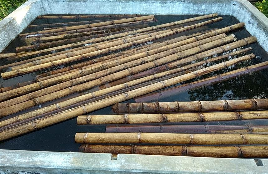 pengawetan bambu