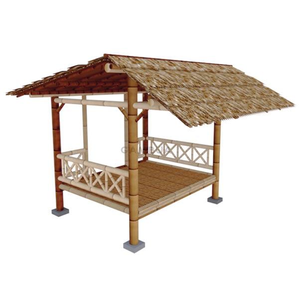 gazebo bambu minimalis 3x2
